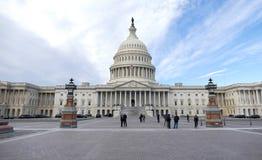 Washington DC, Stany Zjednoczone Luty 2nd 2017 - Wzgórze Kapitolu b Obraz Royalty Free