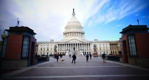 Washington DC, Stany Zjednoczone Luty 2nd 2017 - Wzgórze Kapitolu b Obrazy Royalty Free