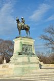 Washington DC - statue d'Ulysse S. Grant Photo stock