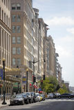 Washington DC street scene royalty free stock image