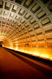 Washington DC subway royalty free stock photography