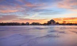 Washington DC Sunrise Background Royalty Free Stock Photography