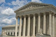 Washington DC Supreme Court facade Stock Photography