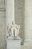 Washington DC Supreme Court facade Royalty Free Stock Image