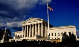 Washington, DC: Supreme Court of the United States Stock Photo