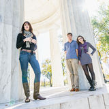 Washington DC Teenagers Royalty Free Stock Photography