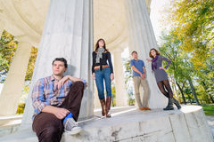 Washington DC Teenagers Stock Images