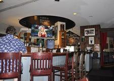 Washington DC 4th Juli: Irländsk bar- och gallerinre från Washington District av Columbia USA Arkivfoton