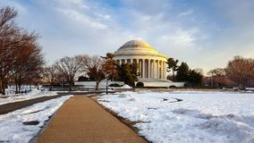Washington DC Thomas Jefferson Memorial Royalty-vrije Stock Fotografie