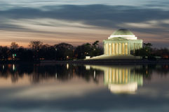Washington DC Thomas Jefferson Monument Stock Photography