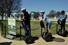 Washington, DC: Tourists on Segways Royalty Free Stock Image