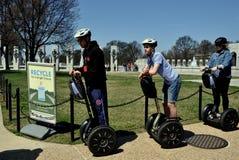 Washington, DC: Tourists on Segways Royalty Free Stock Image