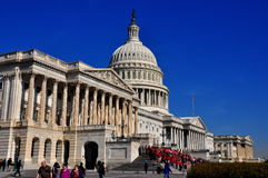 Washington, DC: U. S. Captiol East Front Stock Image