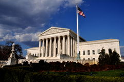 Washington, DC: U. S. Supreme Court Royalty Free Stock Photos