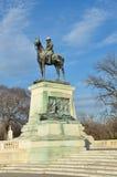 Washington DC - Ulysses S. Grant standbeeld Stock Foto