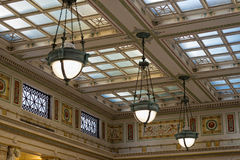 Washington dc union station internal Royalty Free Stock Images