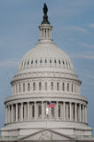 Washington DC - United States Capitol dome detail stock photo