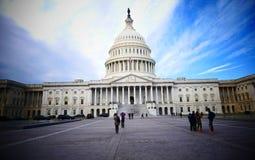 Washington DC, United States. February 2nd 2017 - Capitol Hill B Royalty Free Stock Photos