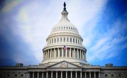 Washington DC, United States. February 2nd 2017 - Capitol Hill B Royalty Free Stock Image