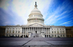 Washington DC, United States. February 2nd 2017 - Capitol Hill B Royalty Free Stock Photography