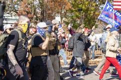 Free WASHINGTON DC, UNITED STATES - Nov 15, 2020: Proud Boys At MILLION MAGA MARCH Stock Photos - 202164783