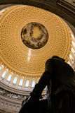 Washington DC US Capitol Rotunda Apotheosis Detail Architecture Royalty Free Stock Image