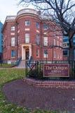 WASHINGTON DC, USA - 31. JANUAR 2006: Das Achteck-Haus wird es tun vorbei Lizenzfreie Stockfotografie