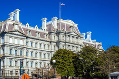 WASHINGTON DC, USA - JANUARY 27, 2006: Eisenhower Building (EEOB). Occupied by the Executive Office of the President royalty free stock photos