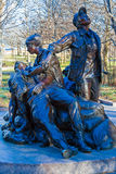 WASHINGTON DC, USA - JANUARY 27, 2006: The Vietnam Women's Memor. Ial by Glenna Goodacre  on National Mall commemorating the Vietnam War Royalty Free Stock Photography