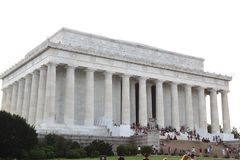 WASHINGTON DC,USA - JUNE 12, 2018: People visit to The Abraham L. Incoln memorial, Washington DC - USA Royalty Free Stock Image