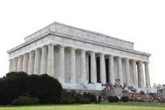 WASHINGTON DC,USA - JUNE 12, 2018: People visit to The Abraham L. Incoln memorial, Washington DC - USA Royalty Free Stock Images