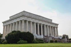 WASHINGTON DC,USA - JUNE 12, 2018: People visit to The Abraham Lincoln memorial, Washington DC - USA