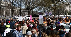 March For Our Lives on March, 24 in Washington, DC Royalty Free Stock Image