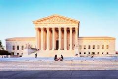 United States Supreme Court Building at Washington DC stock photos