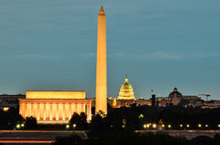 Washington DC, USA - night scene Stock Photos