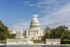 Washington DC, USA, october 30, 2016: Front view of United State royalty free stock photo