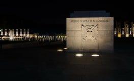 WASHINGTON DC, USA - OCTOBER 21, 2016 World war 2 memorial Washington royalty free stock photos