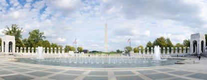 WASHINGTON DC, USA - 20. OKTOBER 2016: Denkmal Montag des Zweiten Weltkrieges Lizenzfreie Stockbilder