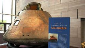 WASHINGTON, DC, USA - SEPTEMBER 10, 2015: A View Of The Apollo 11 Command Module In Washington Stock Image