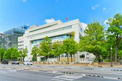 Washington, USA, Embassy of Canada in the USA. Washington, DC, USA - September 10,2017 : Urban cityscape of Washington, Embassy of Canada in the USA,501 royalty free stock photos