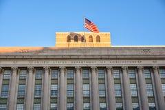 Washington DC, usa Uliczny widok i budynek Waszyngtoński miasto zdjęcia royalty free