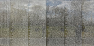 Washington DC, USA. Vietnam Veterans Memorial. Stock Photo