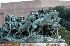 Washington DC van het Burgeroorlog het Herdenkingsmonument Stock Foto's