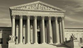 Oberstes Gericht stockbilder