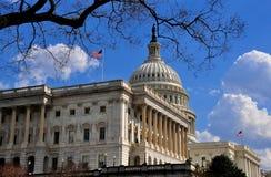 Washington, DC: Verso ovest parte anteriore del Campidoglio degli Stati Uniti Immagine Stock