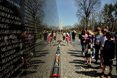 Washington, DC:  Vietnam War Memorial Royalty Free Stock Image