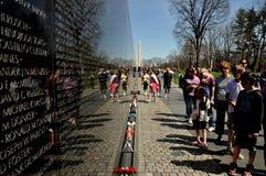 Washington, DC: Vietnam War Memorial royalty free stock image