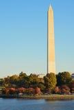 Washington DC, Washington Monument in Autumn Royalty Free Stock Image