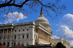 Washington, DC: West Front of U. S. Capitol Stock Image