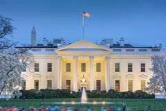 Washington DC White House Royalty Free Stock Photography